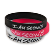 I am Second Silicone Wristband