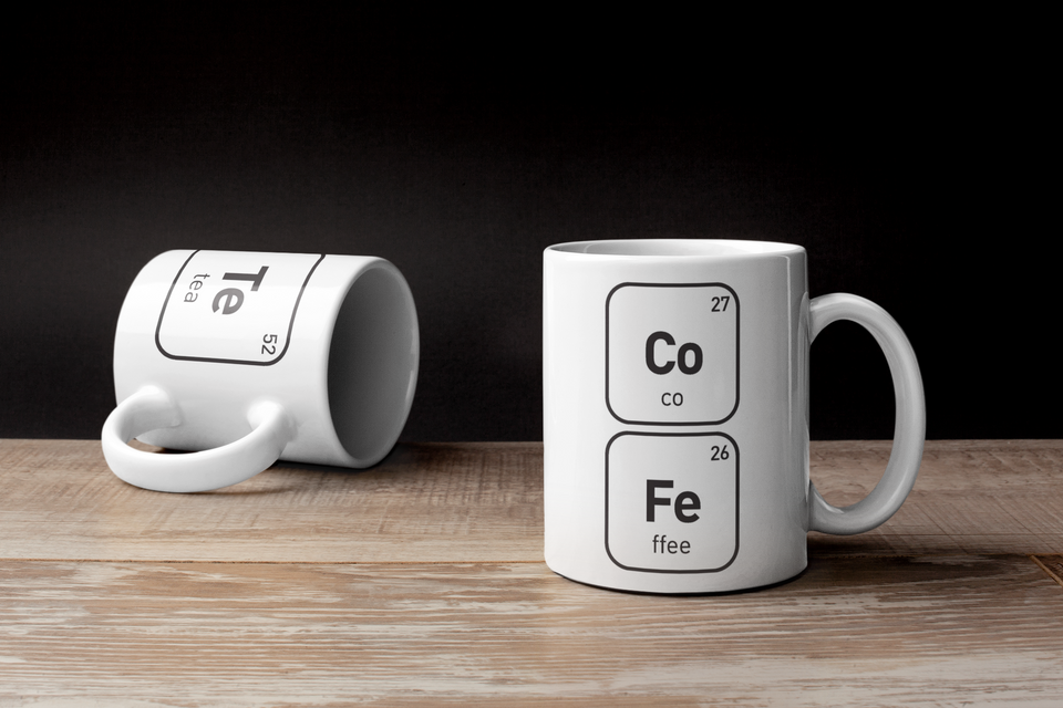 Curiously Scientific Mugs