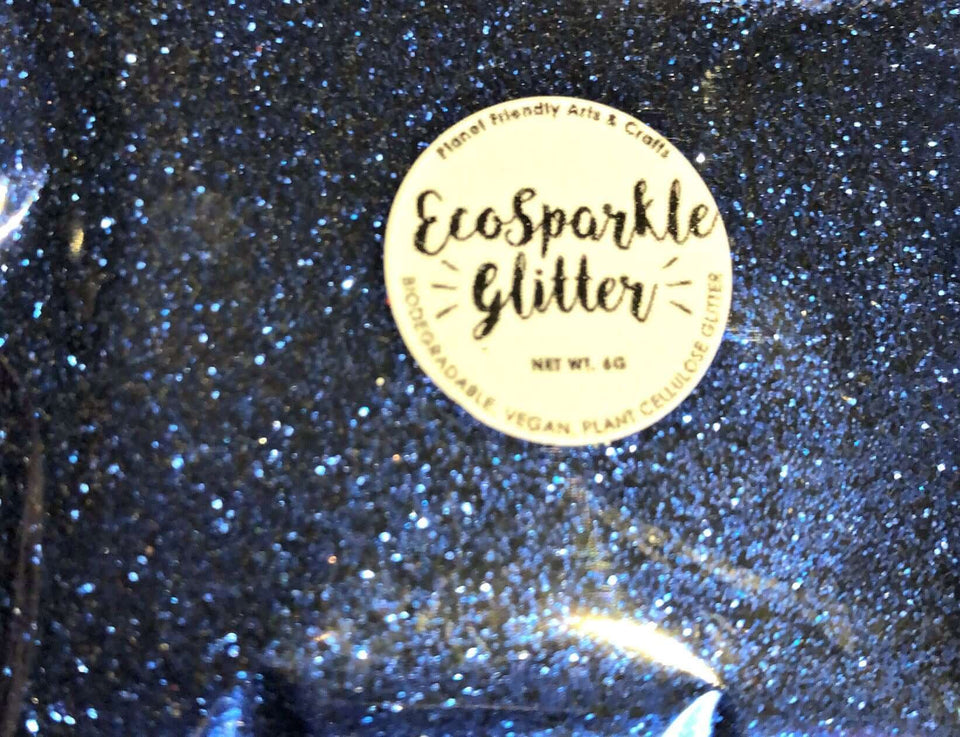 EcoSparkle Biodegradable Glitter Bright Blue 6g