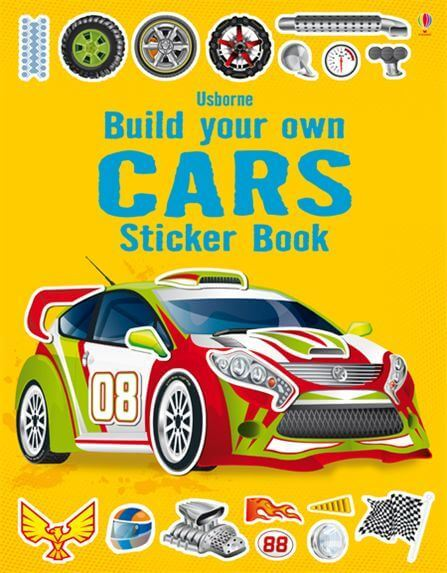 Build your own: Build your own Cars with stickers