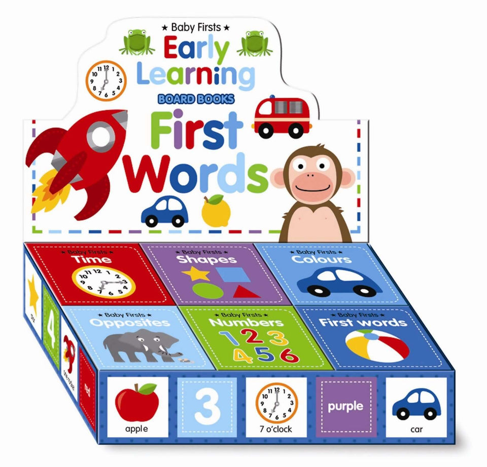 Early Learning First Words- Time