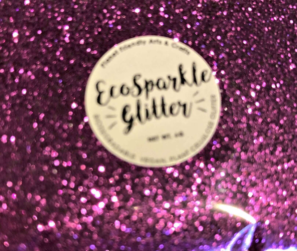 EcoSparkle Biodegradable Glitter Fuschia Pink 6g