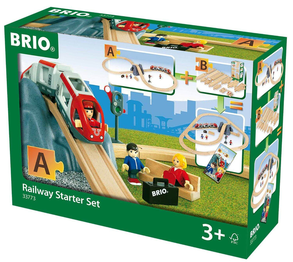 Brio Railway Starter Set Pack A
