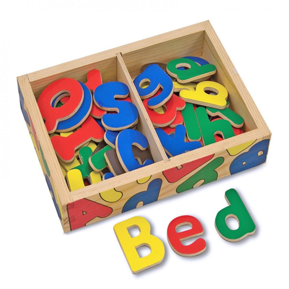 Melissa and Doug Magnetic Wooden Letters