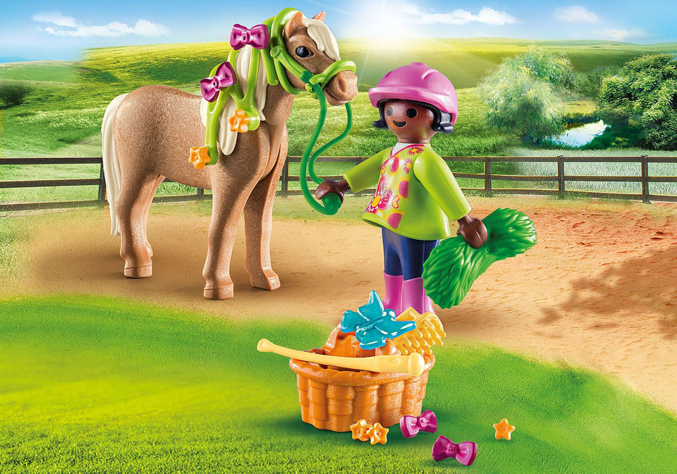 Playmobil 70060 Girl with Pony
