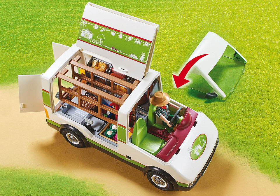 Playmobil 70134 Mobile Farm Market