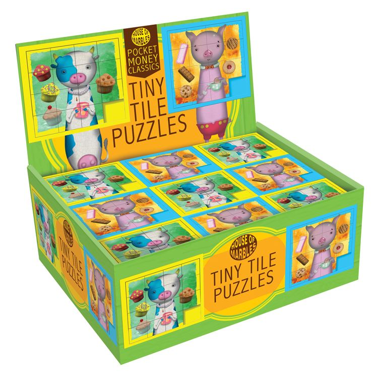 House of Marbles Tiny Tile Puzzles