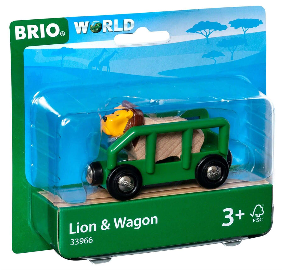 Brio Lion and Wagon 33966