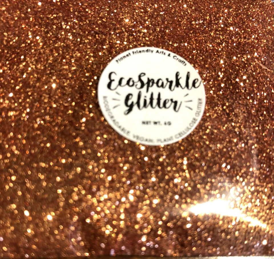 EcoSparkle Biodegradable Glitter Copper 6g