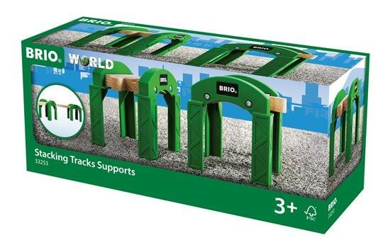 Brio 33253 Stacking Bridge Piers for Railway