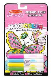Magicolor Friends & Fun coloring pad