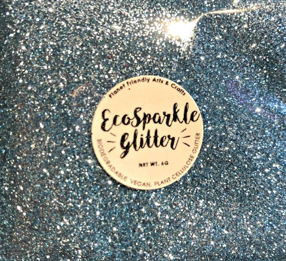 EcoSparkle Biodegradable Glitter Sky Blue 6g
