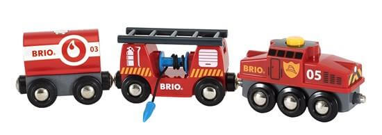 BRIO 33844 Rescue Firefighting Train