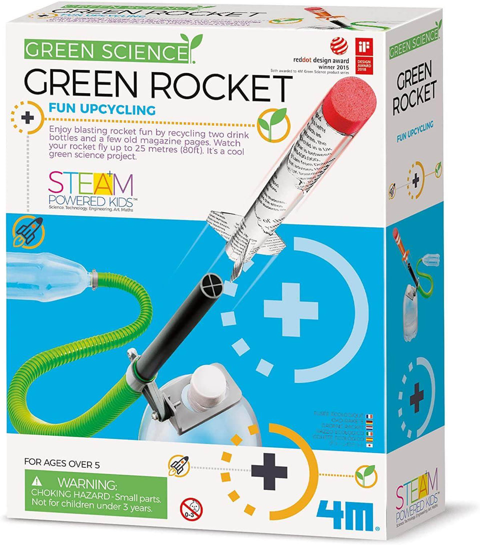 Great Gizmos Green Science Green Rocket