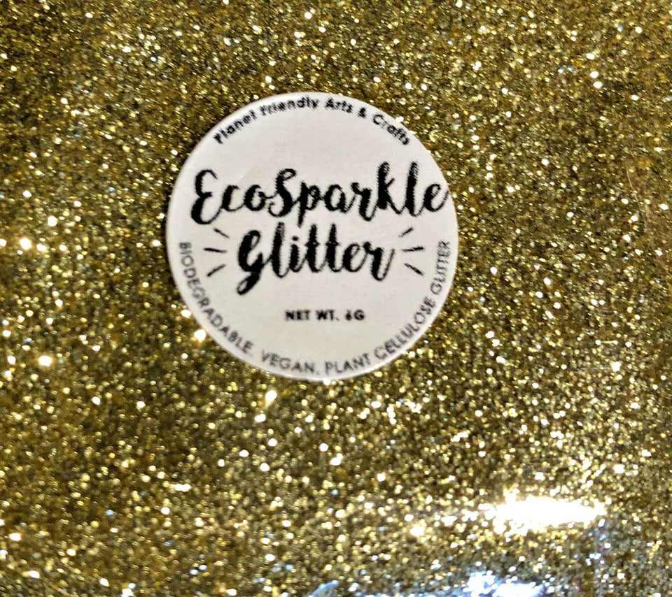 EcoSparkle Biodegradable Glitter Gold 6g