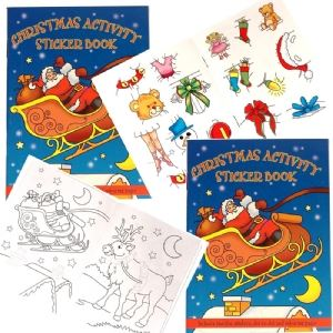 Playwrite Christmas Sticker and Activity Book