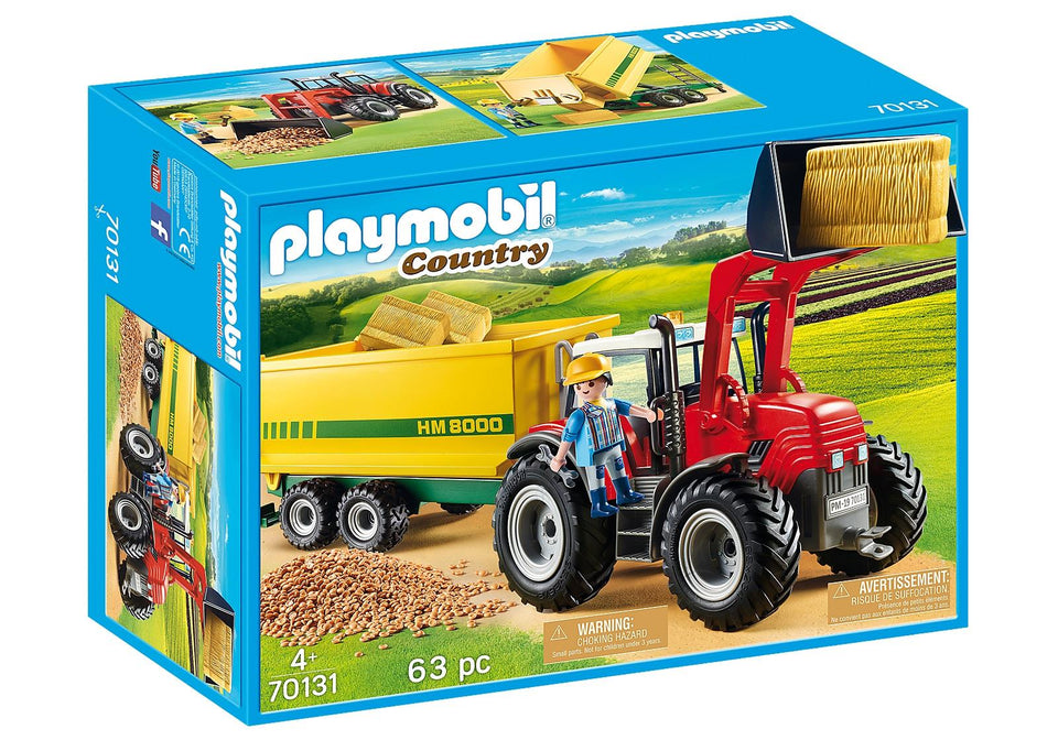 Playmobil 70131 Tractor with Feed Trailer