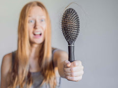 Hair loss or thinning can be a sign of vitamin or mineral deficiencies.