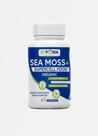 Sea Moss + Super Cell Food Capsules