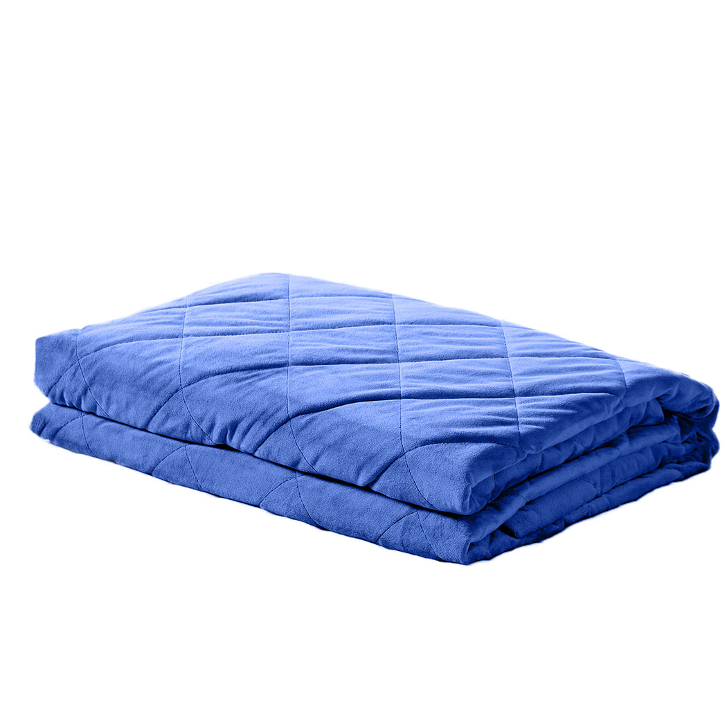 DreamZ Royal Blue 11kgs Weighted Blanket in Royal Blue Colour