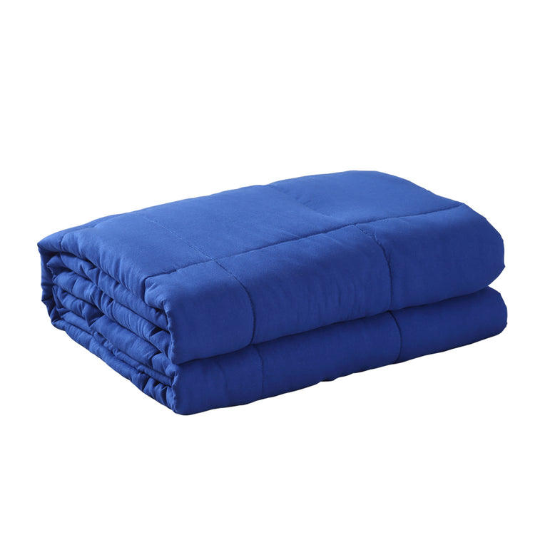 DreamZ Weighted Blanket Heavy Gravity Deep Relax 9KG Adult Double Navy