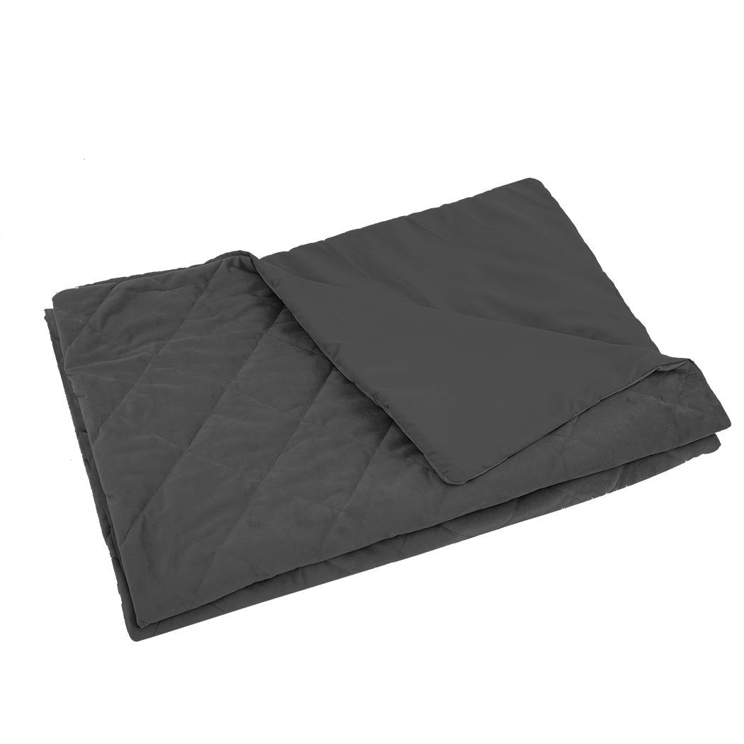 Grey kids Weighted Blanket Cover