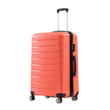 "28"" PP Expandable Luggage Coral Colour"