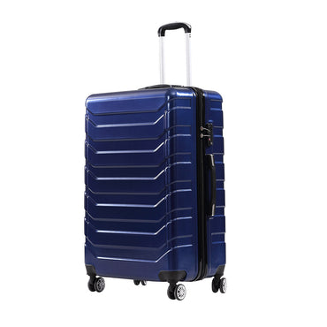 3pc ABS PC Luggage Set Navy Colour