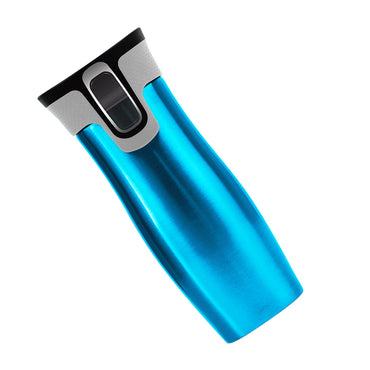 16OZ Autoseal Thermos Coffee Water Bottle Travel Mug Drink Cup Flask Blue