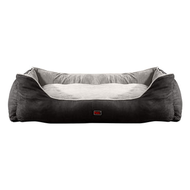 PaWz Deluxe Soft Pet Bed Mattress with Removable Cover Size Medium in Grey Colour