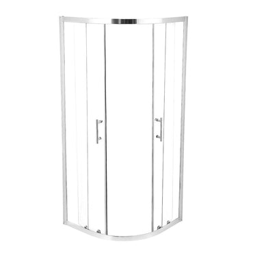 Levede Shower Screen Screens Door Seal Enclosure Glass PanelCurved900x900x1900mm