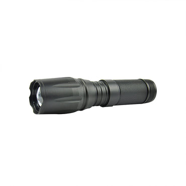 Tactical LED Flashlight Zoom Military Torch Self-defense Light Kit