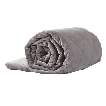 DreamZ 7KG Anti Anxiety Weighted Blanket Gravity Blankets Grey Colour