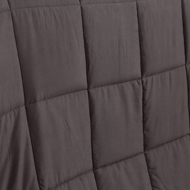 DreamZ Weighted Blanket Heavy Gravity Deep Relax 2.3KG Adult Kids Grey