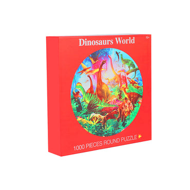 Jigsaw Puzzles 1000 Piece Dinosaur World Adult Kids DIY Puzzle Toys Home Decor