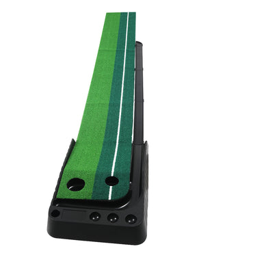 Golf Putting Mat Portable Auto Return Practice Putter Trainer Indoor Outdoor Type B