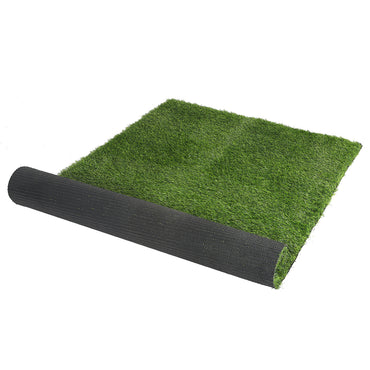 Artificial Grass 20SQM Lawn Flooring Outdoor Synthetic 4-Colour Grass Plant Lawn