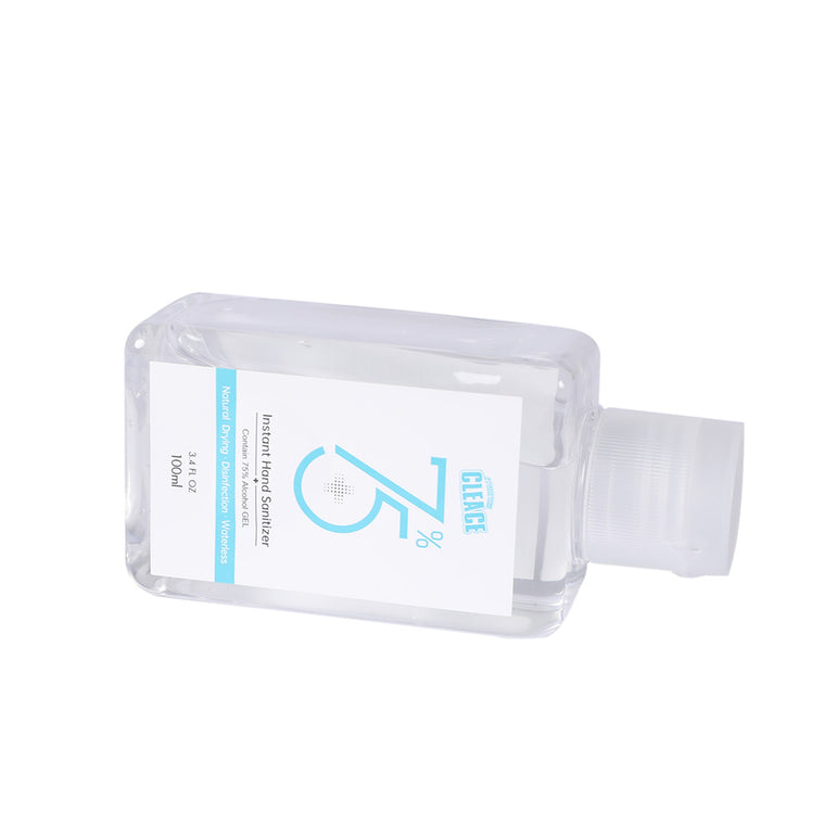 Cleace 5x Hand Sanitiser Sanitizer Instant Gel Wash 75% Alcohol 60ML