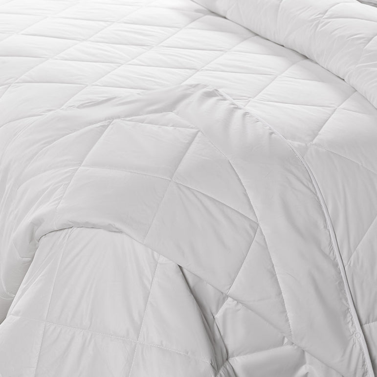 DreamZ 100% Wool Quilt 2-Piece 400/600GSM Doona Duvet Down Winter Summer Double
