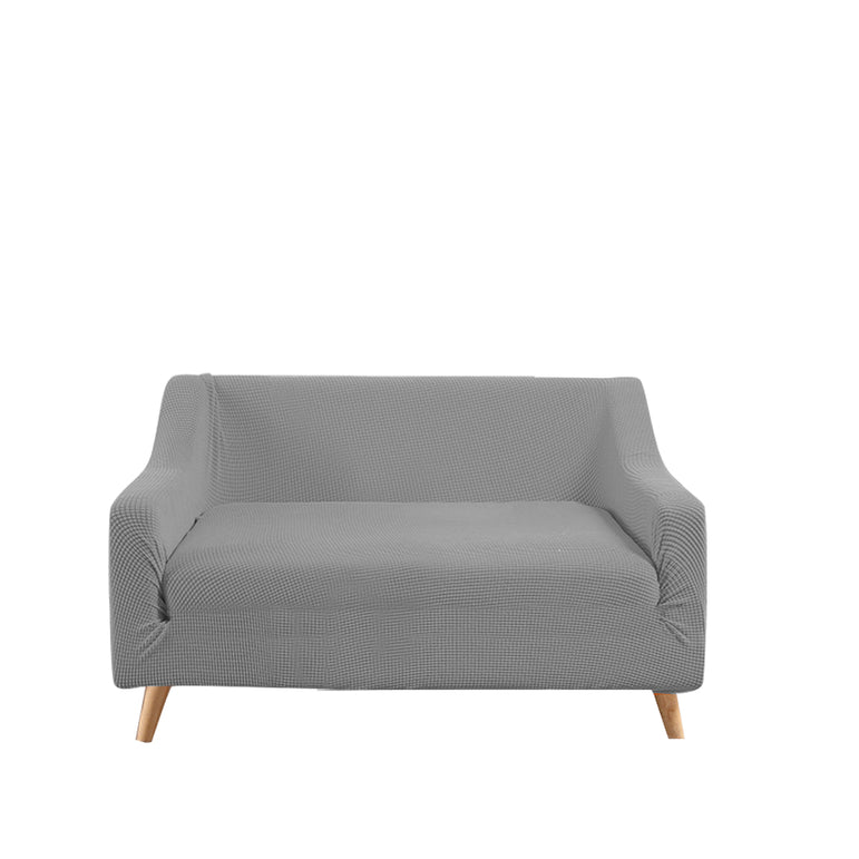 DreamZ Couch Stretch Sofa Lounge Cover Protector Slipcover 2 Seater Grey