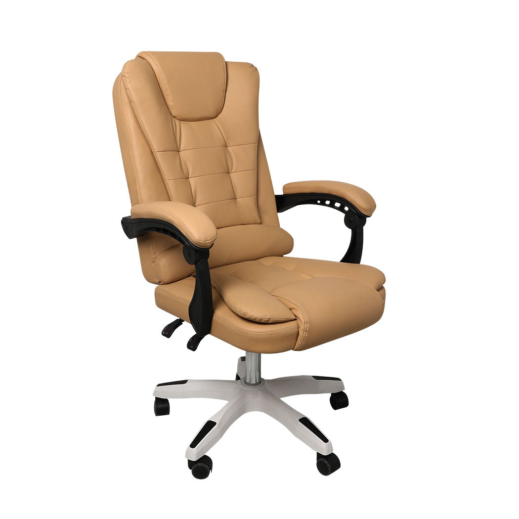 Gaming Chair Office Computer Seat Racing PU Leather Executive Racer Recliner