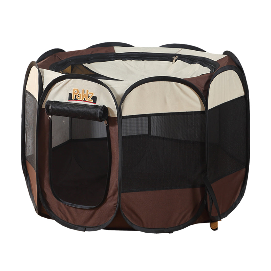 PaWz Dog Playpen Pet Play Pens Foldable Panel Tent Cage Portable Puppy Crate 62