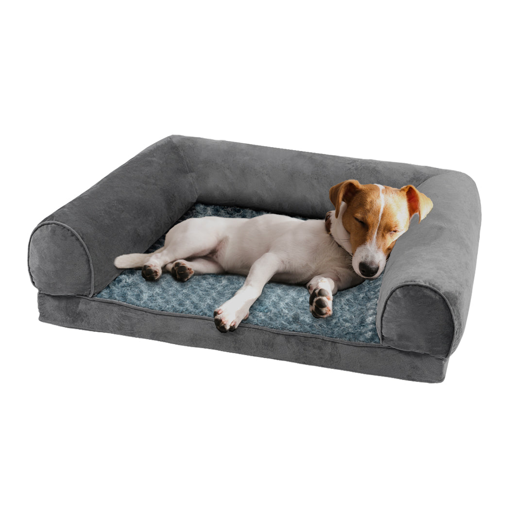 Pet Dog Bed Sofa Cover Soft Warm Plush Velvet M
