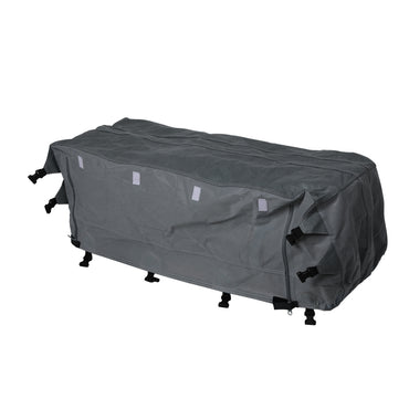 Caravan Covers Campervan 4 Layer Heavy Duty UV Waterproof Carry bag Covers L Grey