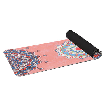 TPE Yoga Mat Dual Layer Non Slip Pad Eco Friendly Exercise Fitness Pilate Gym Type 4