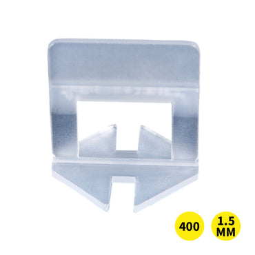 400x 1.5MM Tile Leveling System Clips Levelling Spacer Tiling Tool Floor Wall
