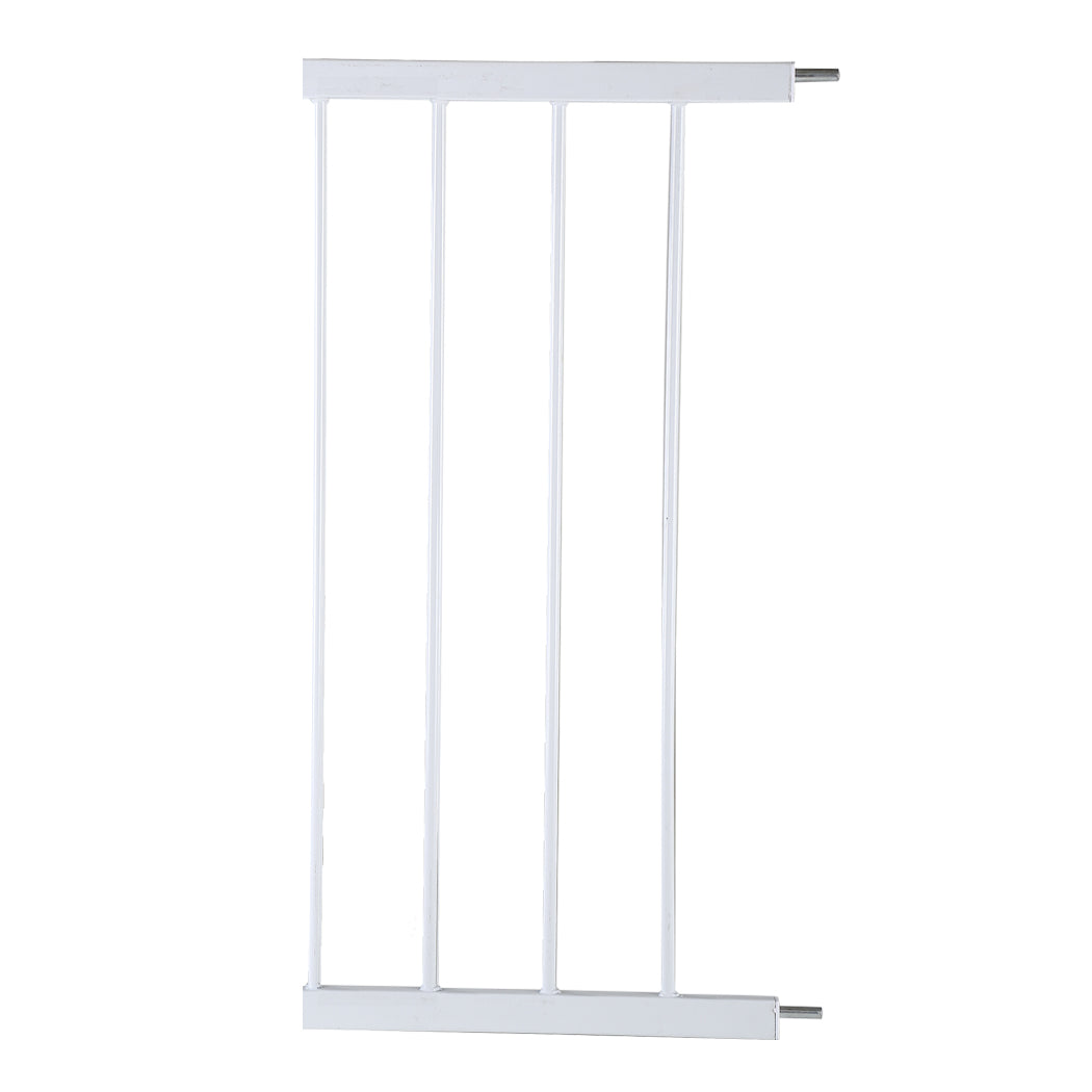 Baby Kids Pet Safety Security Gate Stair Barrier Doors Extension Panels 30cm WH