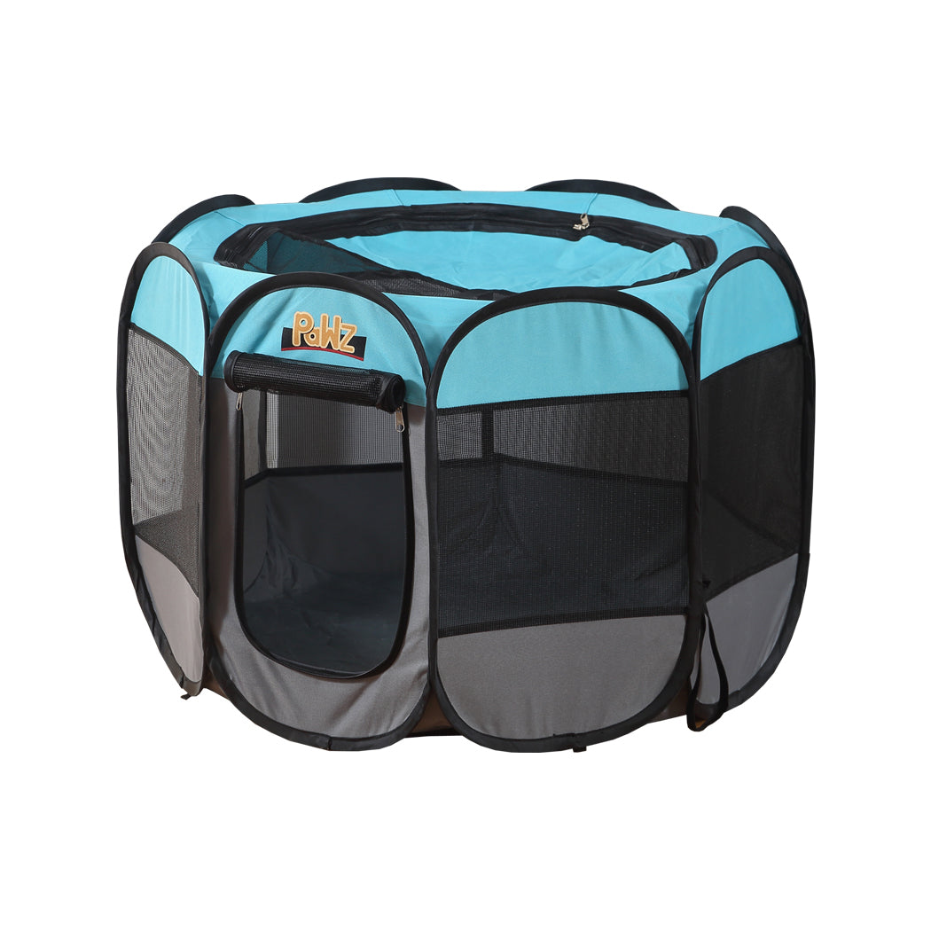 PaWz Dog Playpen Pet Play Pens Foldable Panel Tent Cage Portable Puppy Crate 30