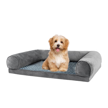 Pet Bed Sofa Dog Beds Bedding Soft Warm Mattress Cushion Pillow Mat Plush M