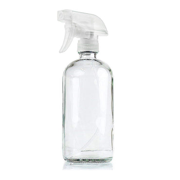 6x 500ml Clear Glass Spray Bottles Trigger Water Sprayer Aromatherapy Dispenser